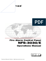 Notifier NFS 3030 E Operations Manual