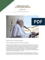 Papa Francisco - Mensaje Urbi Et Orbi - 2015 - Tiempo Mercosur