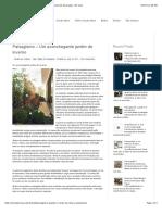 Paisagismo – Um aconchegante jardim de inverno | Revista de Decoração - Em Casa