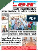 Periodico Lea vierneS 18 de diCieMBre de 2015