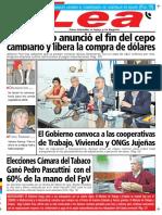 Periodico Lea Jueves 17 de Diciembre