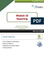 10 Reporting