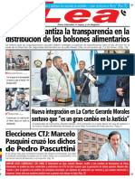 Periodico Lea miercoles 16 de Diciembre