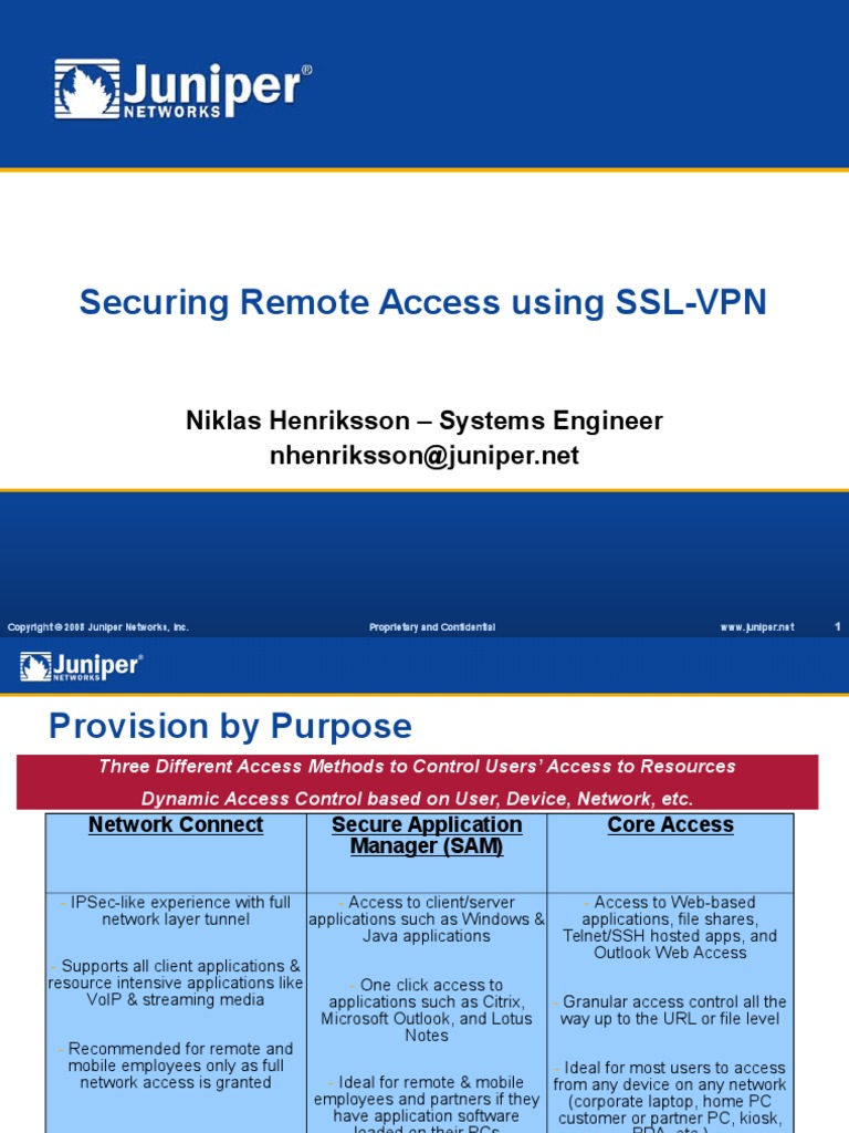 Ssl vpn what is it