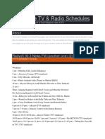 Philippine TV & Radio Schedules on https://www.badofilada.wordpress.com/