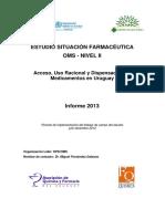 Informe Situacion Farmaceutica OMS Nivel II