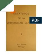 Estatuto UCE 1956