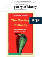 Bernard Lietaer - The Mystery of Money, 287pp full pdf download