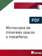 Microscopia de Minerales Opacos (1)