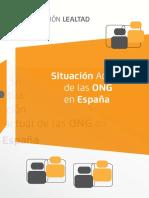 Situación Actual de Las ONGs en España