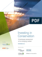Investing In Conservation Full Report
