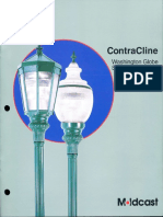 Moldcast Contra Cline Washington Globe & Savannah Lantern Brochure 1997