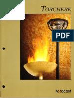 Moldcast Torchere Brochure 1996