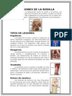 Lesiones de Rodilla.doc Xavier