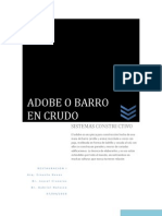 Adobe o Barro en Crudo