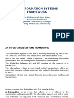 An Information Systems Framework
