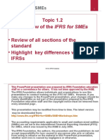 Overview of IFRS for SMEs Version2011