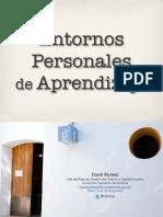 Curso Entornos Personales de Aprendizaje FCE UNaM