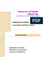 Chap 01 - Sources of Shariah