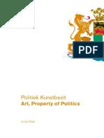 Jonas Staal - Art, Property of Politcs