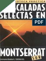 75 Escaladas Selectas en Montserrat Sur - Ediciones Desnivel (1996)
