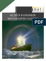 IMETA NZMS Course Brochurex - New Zealand COC Appliance