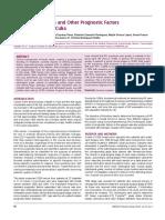Hormone Receptors and Other Prognostic Factors