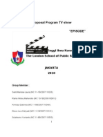 Proposal Program TV show