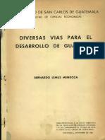 Bernardo Lemus Tesis
