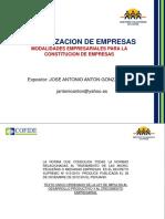 Formalización de Empresas - Jose Anton