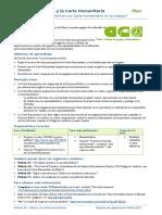 A9 Carta Humanitaria Plan
