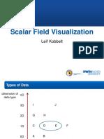 Lec 4 Scalar Field Visualization
