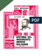 Lora Guillermo - Historia Del Movimineto Obrero Tomo i