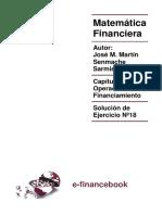 Cap 10 - Operaciones de Financiamiento - Solucionario 18