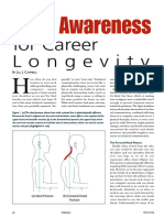 Body Awareness for Career Longevity