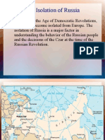 The Isolation of Russia