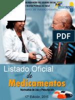 Listado Oficial de Medicamentos 17ª Edición 2015