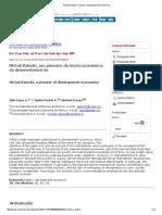 Michal Kalecki, a pioneer of development economics.pdf