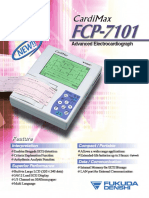 Fukuda Denshi CardiMax FCP-7101 ECG
