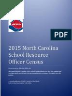 2015 North Carolina  School Resource  Officer Census