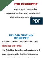 STATISTIK DISKRIPTIF