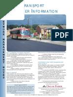 Public Transport Passenger Information