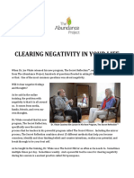 Clearing Negativity