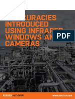 Inaccuracies Introduced Using Infrared Windows & Cameras