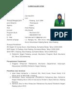Curriculum Vitae - Qurratul Aini
