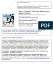 Sports and Masculinity
