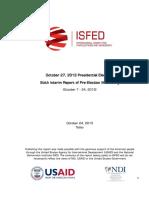 ISFED VI INTERIM Report III |ISFED