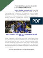 Prediksi Levante vs Malaga 30 Des
