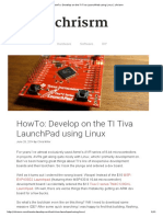HowTo_ Develop on the TI Tiva LaunchPad Using Linux _ Chrisrm
