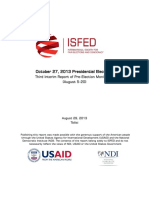 Third Pre-Election Report - Eng | ISFED